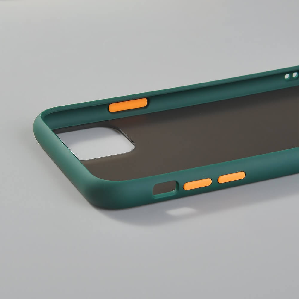 Green Matte Case iPhone 11