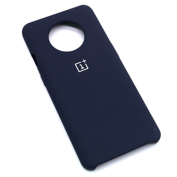 Blue Silicone Case For OnePlus - 7T
