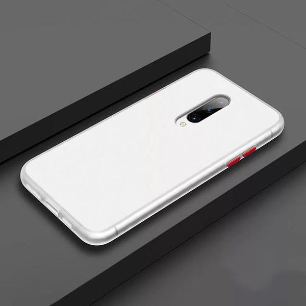 Smoke Matte Case For OnePlus 8 - White