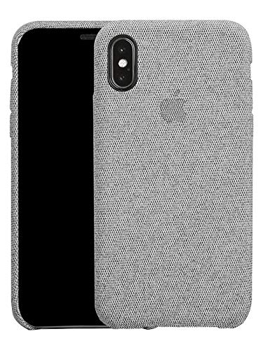 Fabric Cover For iPhone X / XS - Light Grey