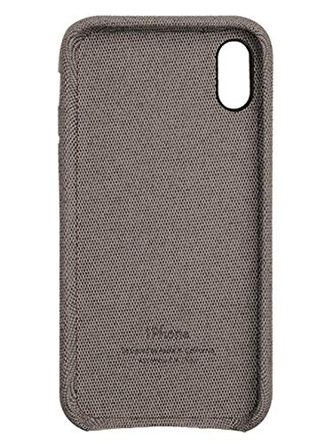 Fabric Cover For iPhone X / XS - Dark Grey