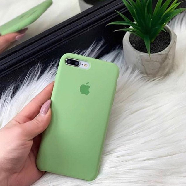 Mint Liquid Silicon Case - iPhone 7 Plus & 8 Plus - Mobilegadgets360