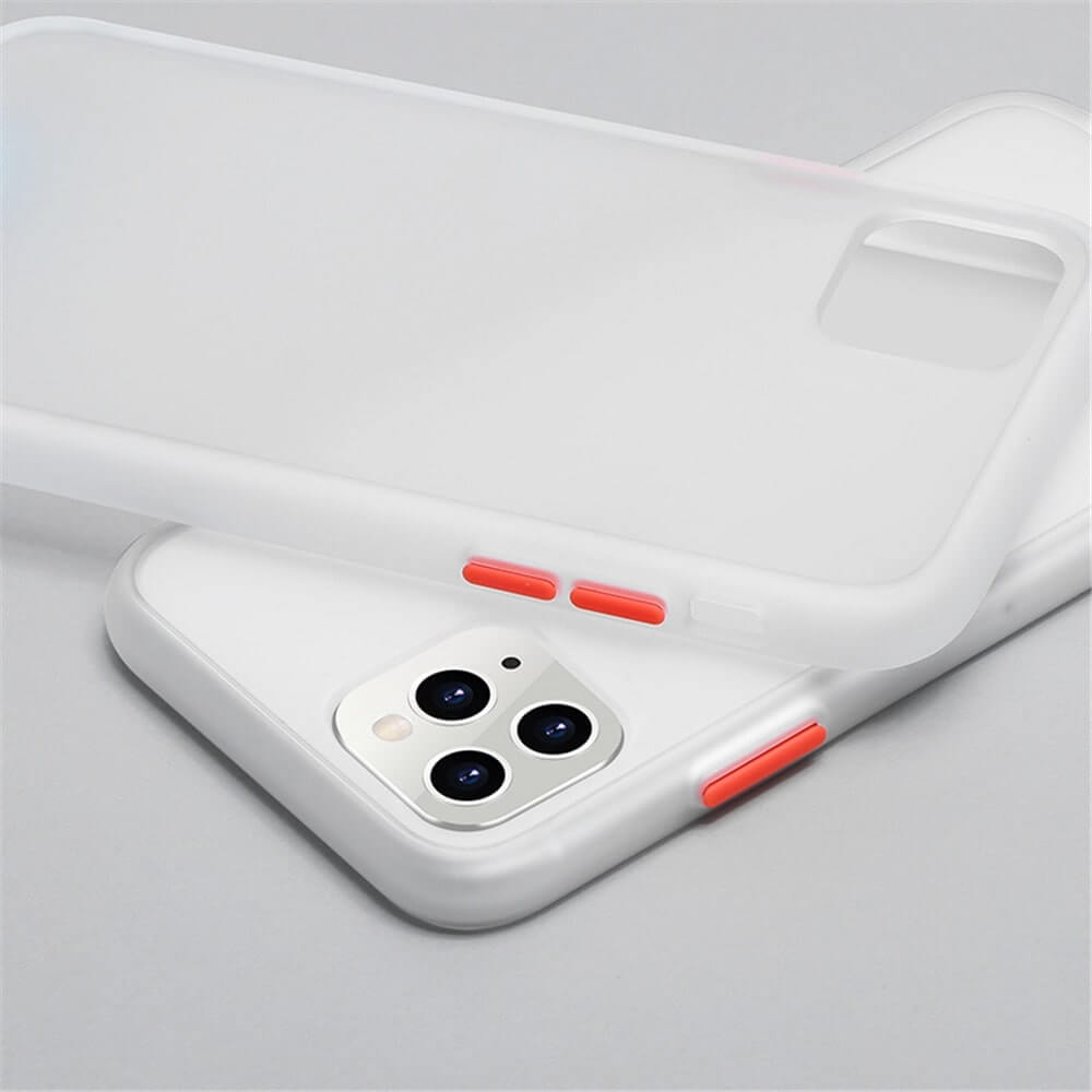 White Matte Case - iPhone 11 Pro Max - Mobilegadgets360