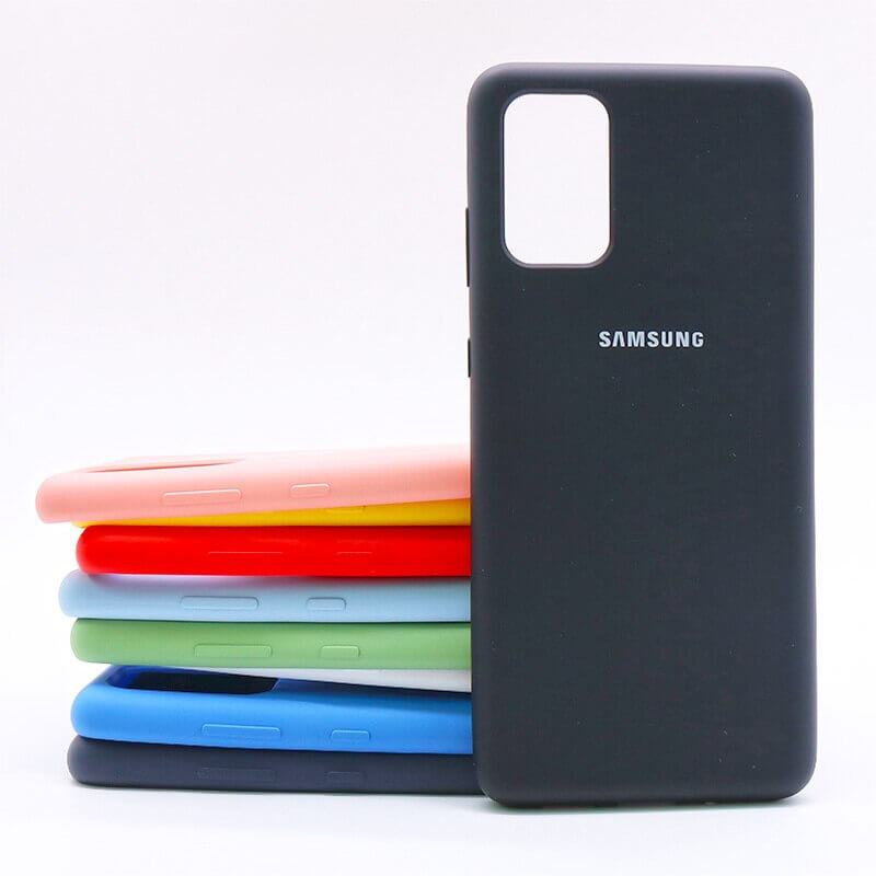 Samsung S20 Plus Silicone Case - Black