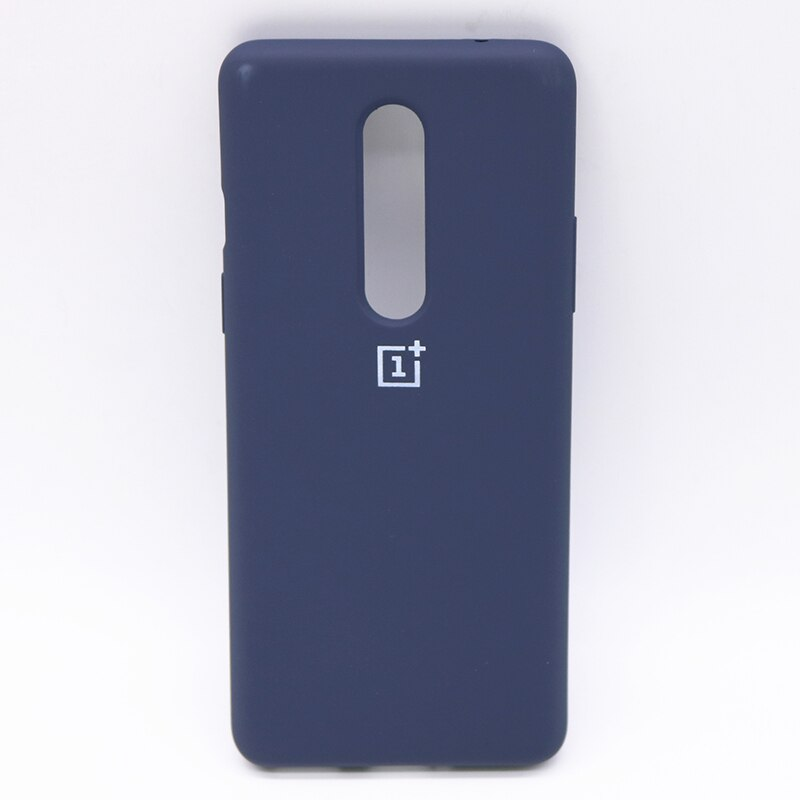 Blue Silicone Case For OnePlus 7 Pro