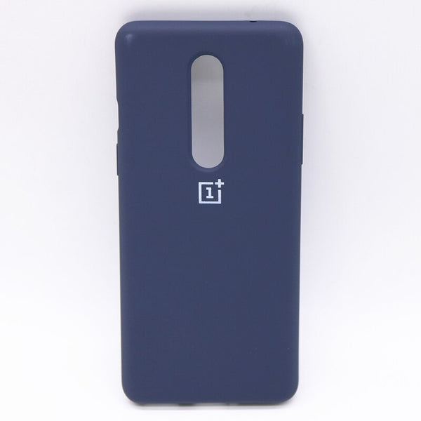 Blue Silicone Case For OnePlus 8