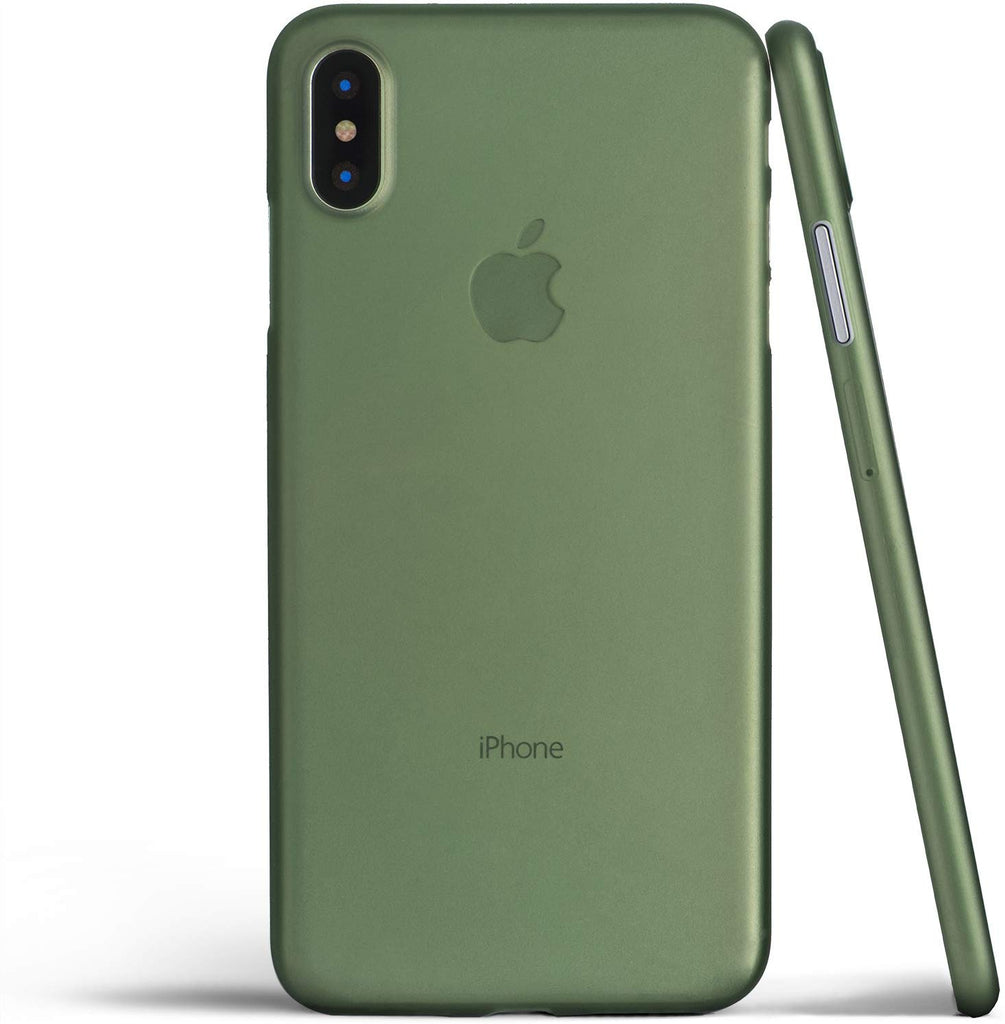 Army Green Liquid Silicon Case - iPhone XS Max - Mobilegadgets360
