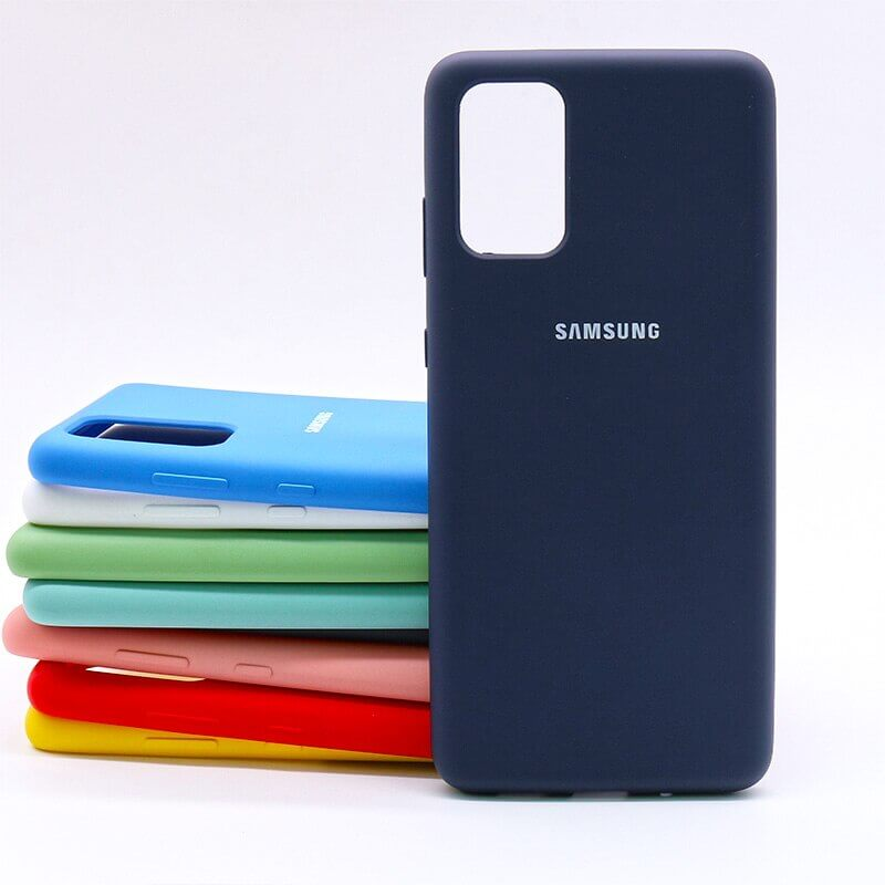 Samsung S20 Plus Silicone Case - Blue