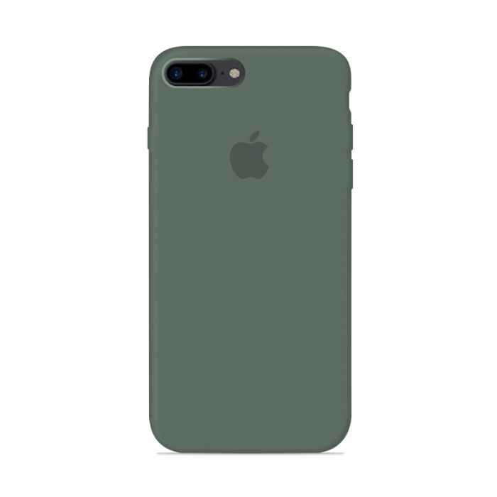 iPhone 7 & 8 Plus Silicone Case - Green