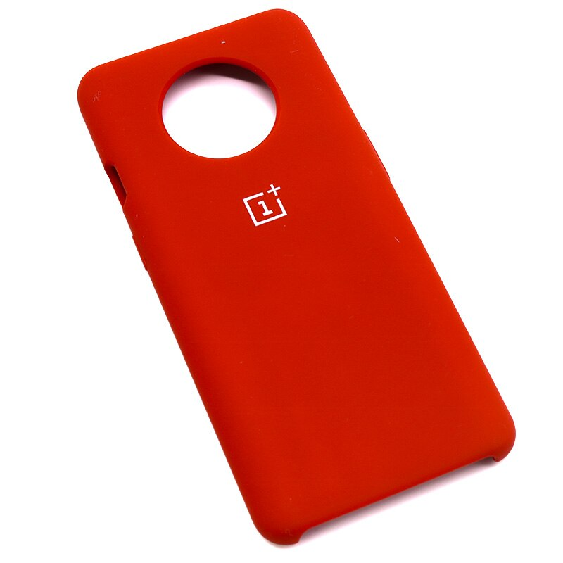 Red Silicone Case For OnePlus - 7T