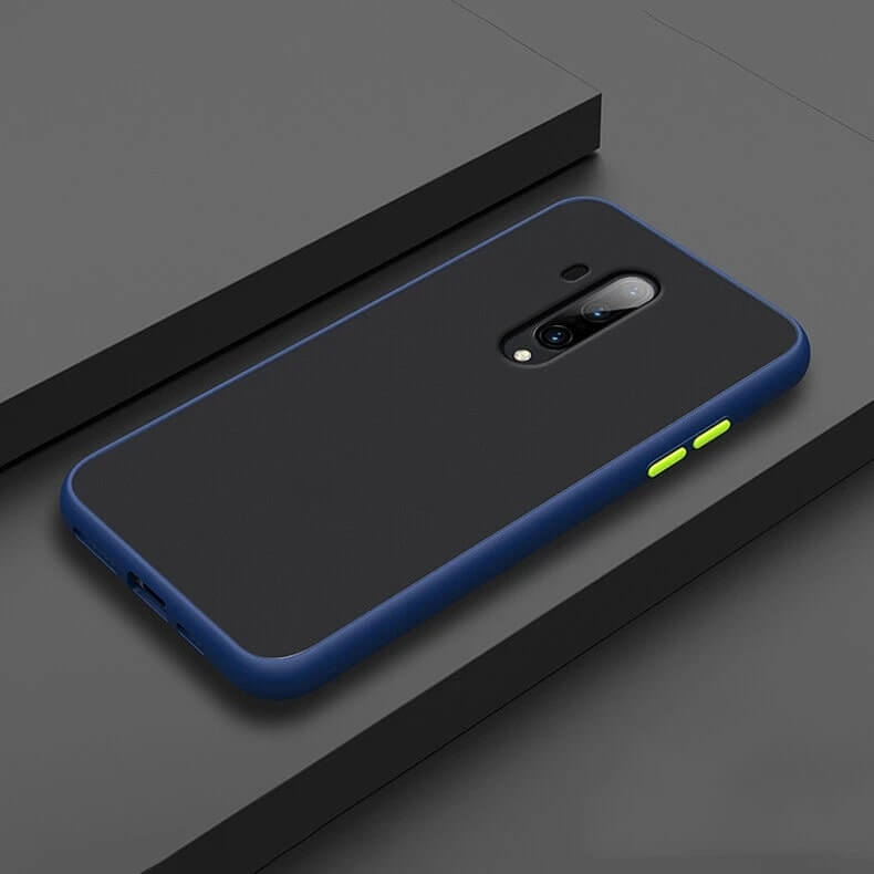 Smoke Matte Case For OnePlus 7T Pro - Blue