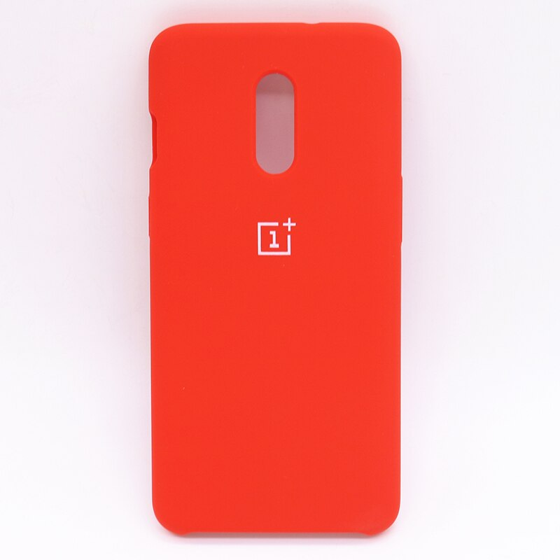 Red Silicone Case For OnePlus - 7