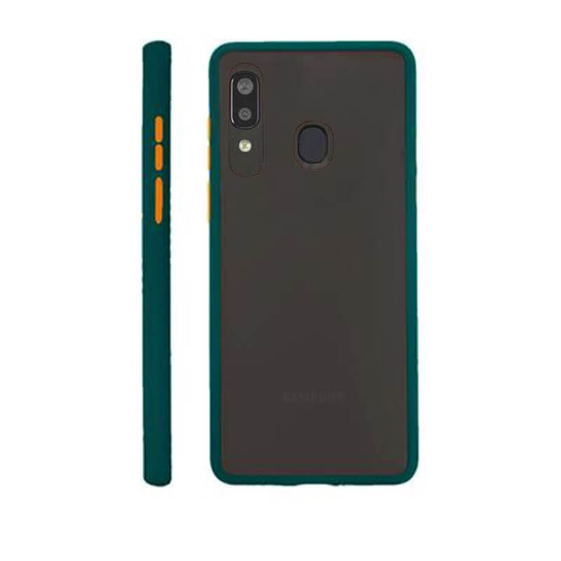 Samsung A40 Matte Cover - Green