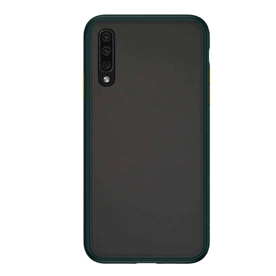 Samsung A90 Matte Cover - Green