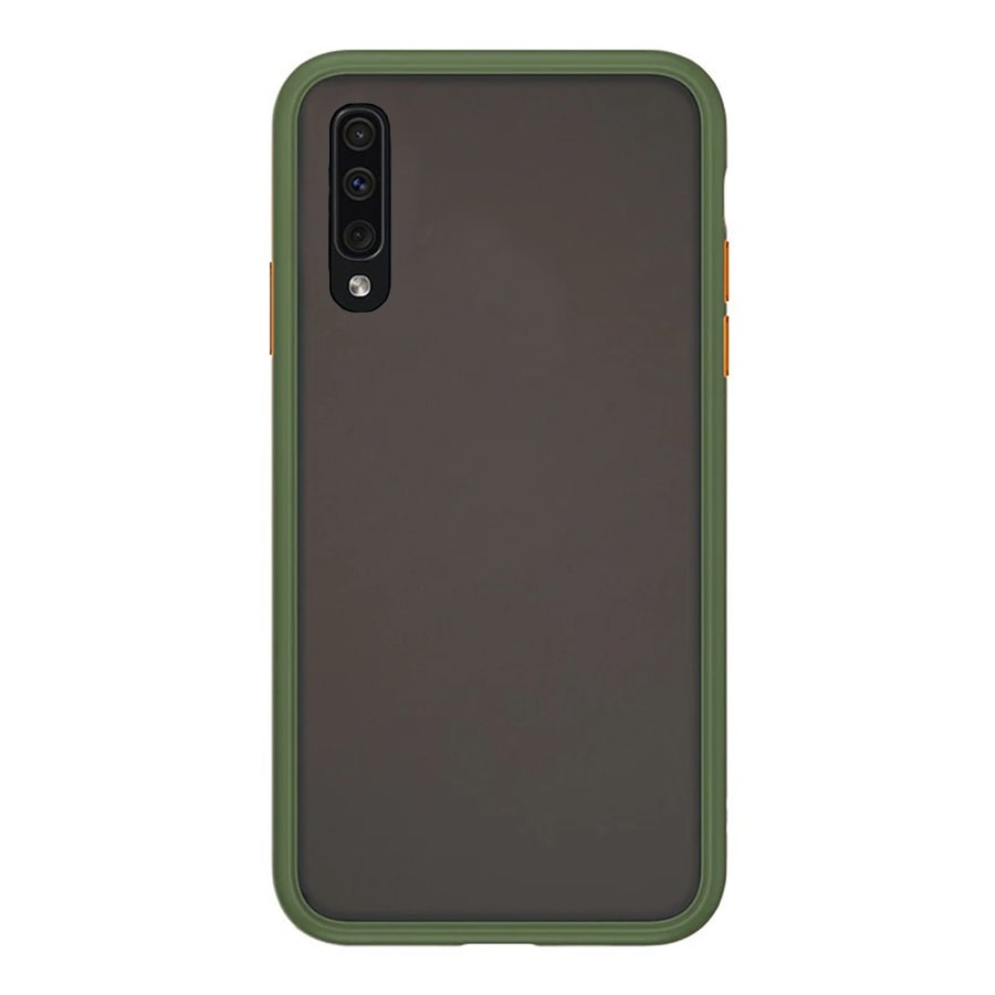 Samsung A51 Matte Cover - Olive Green