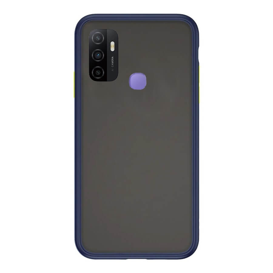 VIVO A53 Matte Cover - Blue