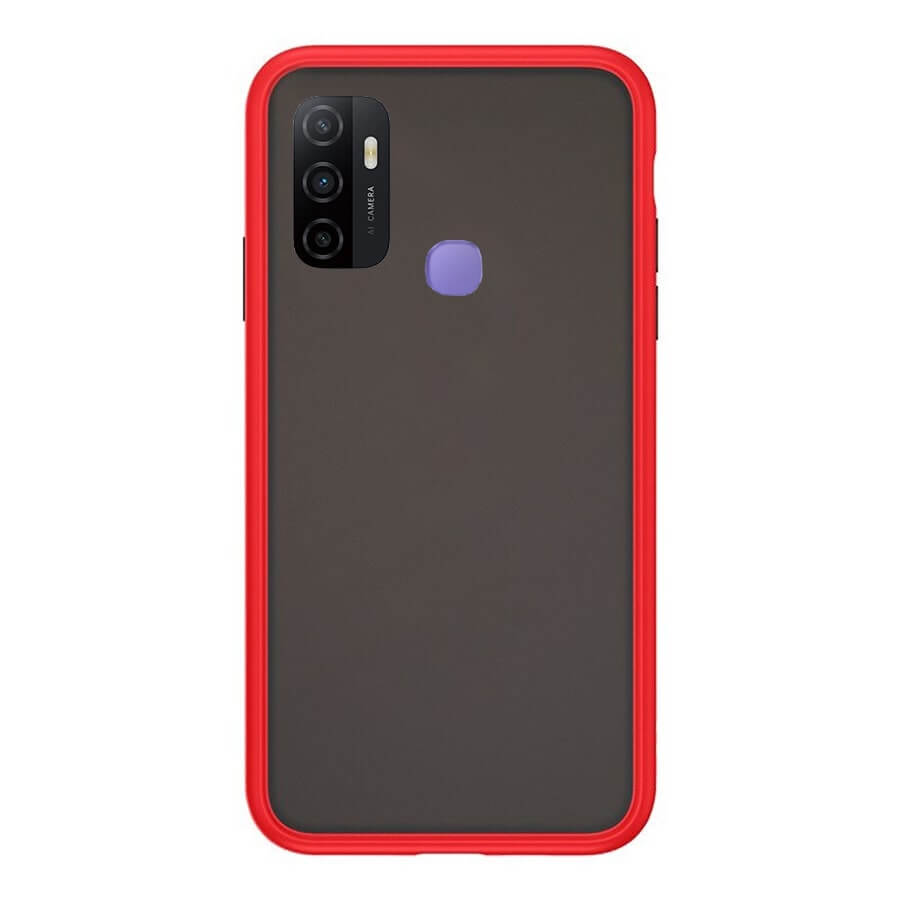 OPPO A53 Matte Cover - Red