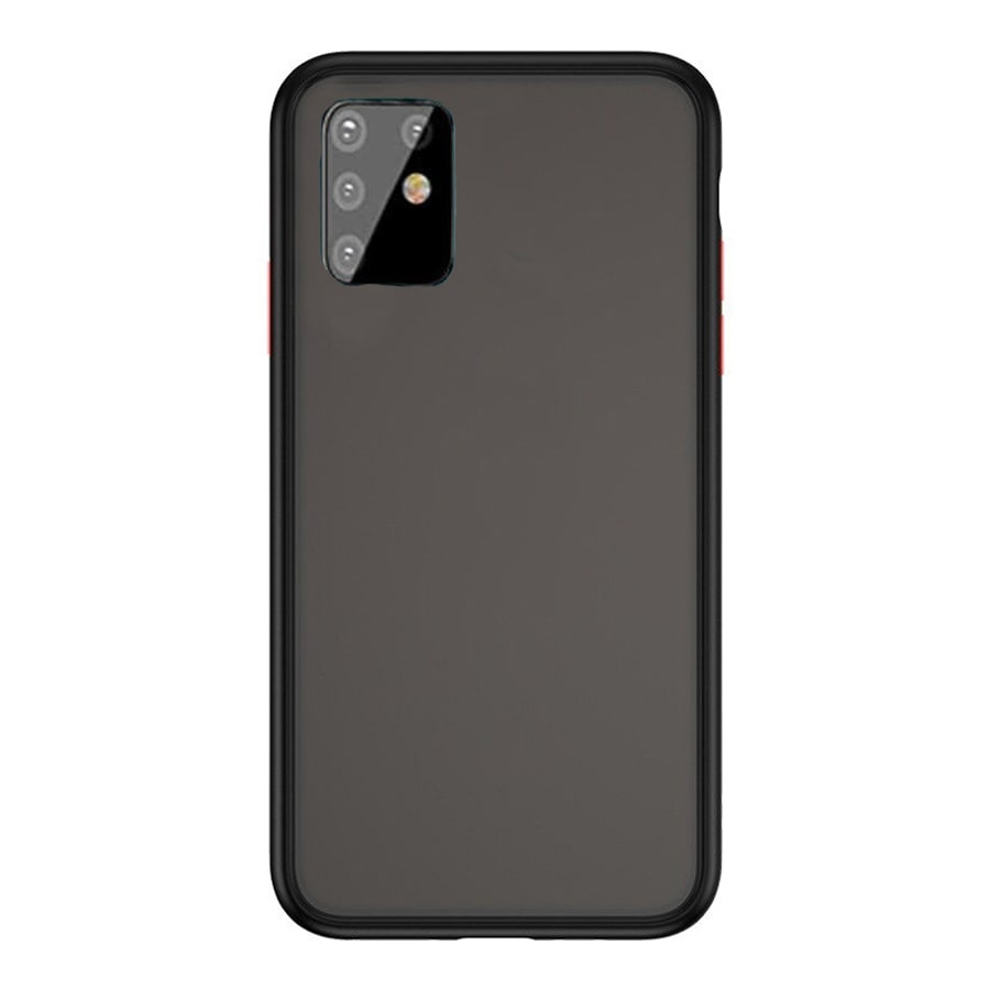 Samsung A81 Matte Cover - Black