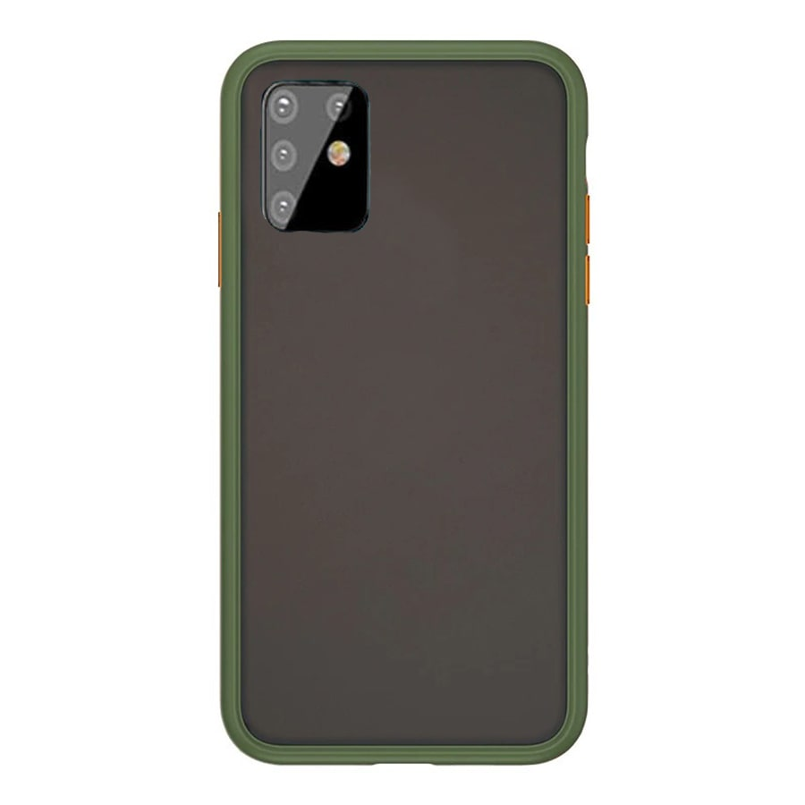 Samsung A81 Matte Cover - Olive Green