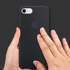 Black Liquid Silicon Case - iPhone 8 - Mobilegadgets360