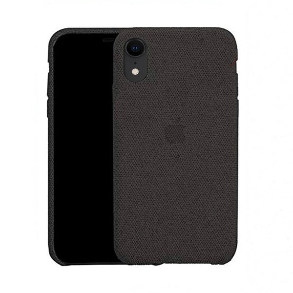 Black Fabric Case - iPhone XR