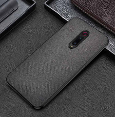 Black Fabric Cover - Redmi K20 - Mobilegadgets360