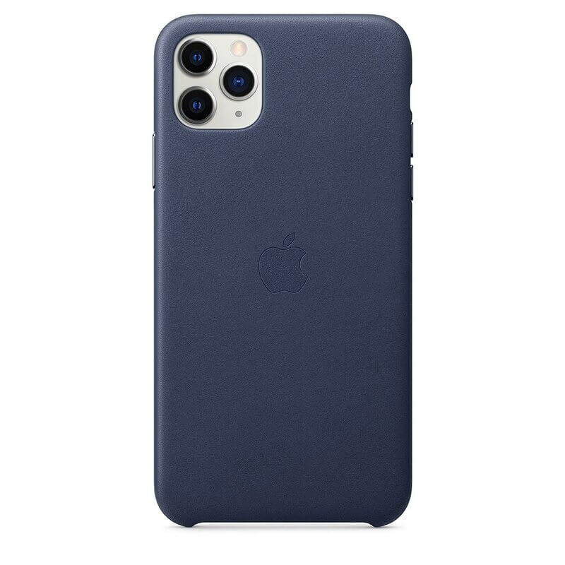 iPhone 12 Pro Max Leather Case - Blue