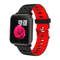 KSS X1 Smart Watch - Red - Mobilegadgets360