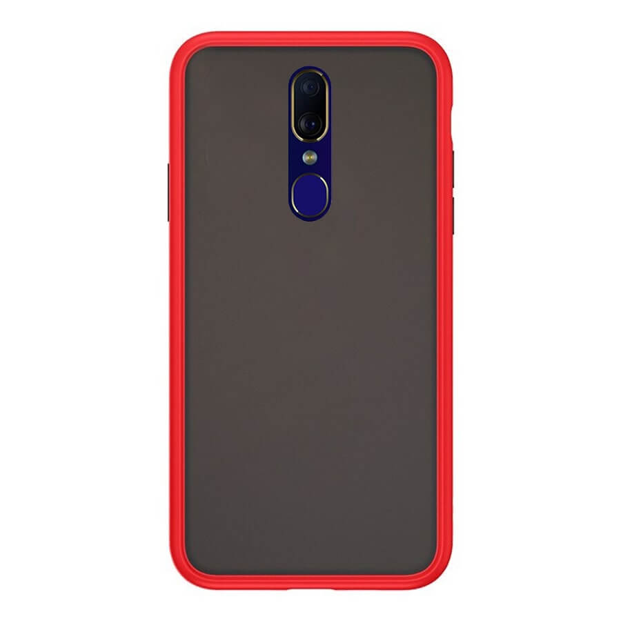 OPPO F11 Matte Cover - Red