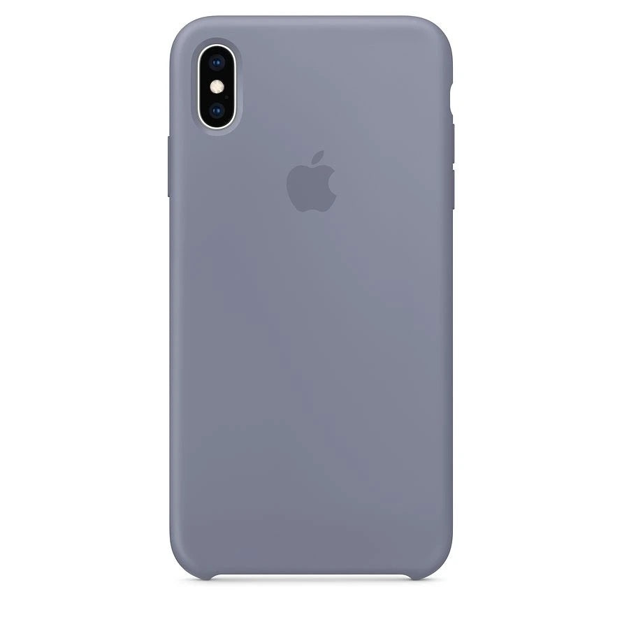 Silicone Case For iPhone X / XS - Lavender