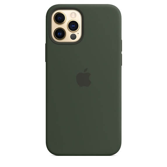 iPhone 12 & 12 Pro Silicone Case - Green