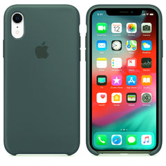 Green Liquid Silicon Case - iPhone XR