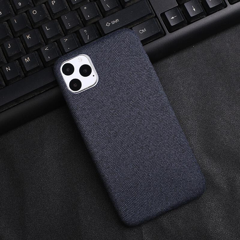 Blue Fabric Case - iPhone 11 Pro