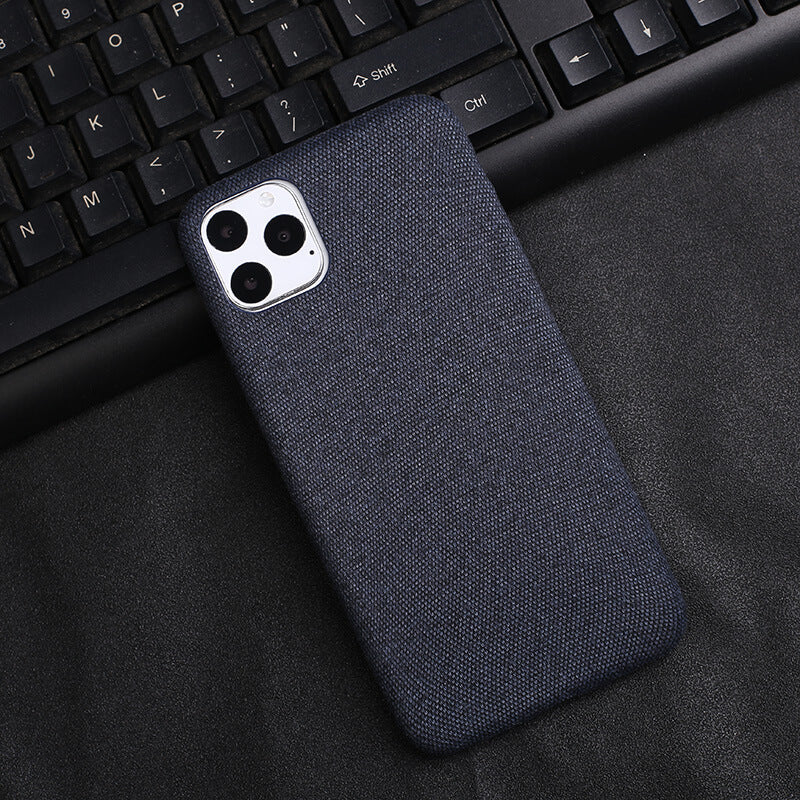 Blue Fabric Case - iPhone 11 Pro Max - Mobilegadgets360