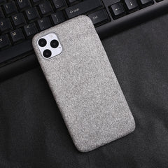 Light Grey Fabric Case - iPhone 11 Pro Max - Mobilegadgets360