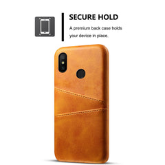 Yellow Leather Wallet Case - Redmi Note 5 Pro - Mobilegadgets360