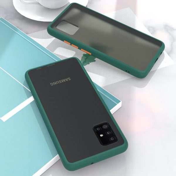 Green Matte Cover - Samsung M51