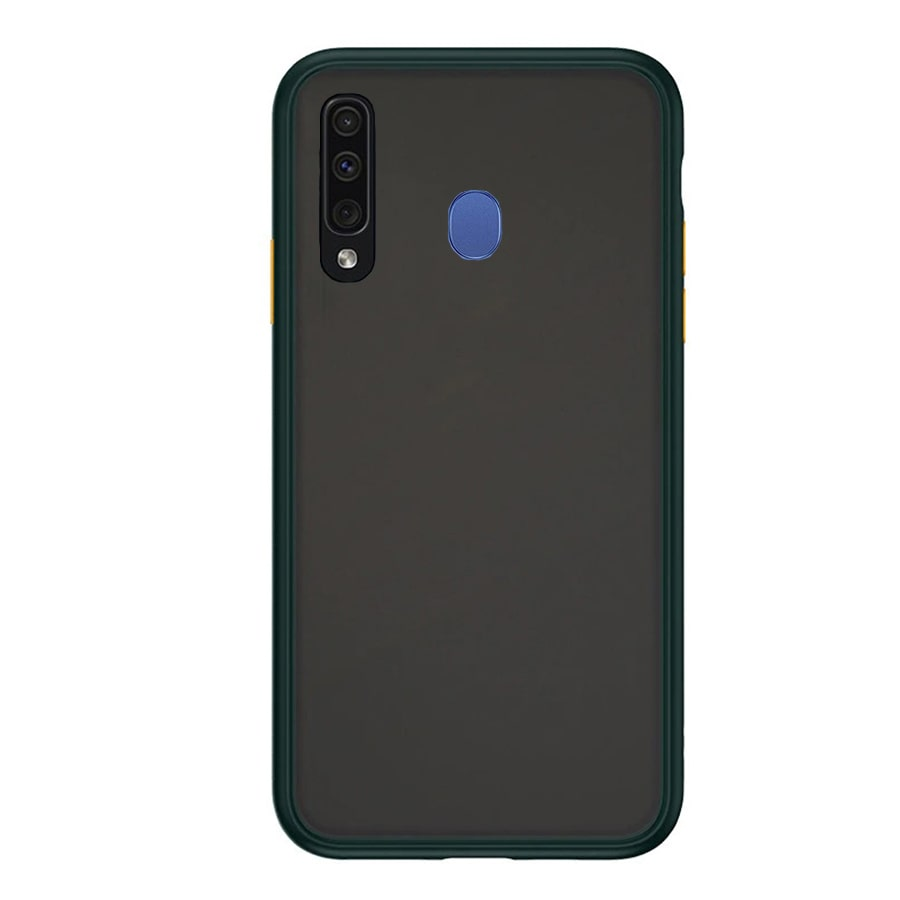 Samsung M30 Matte Cover - Green