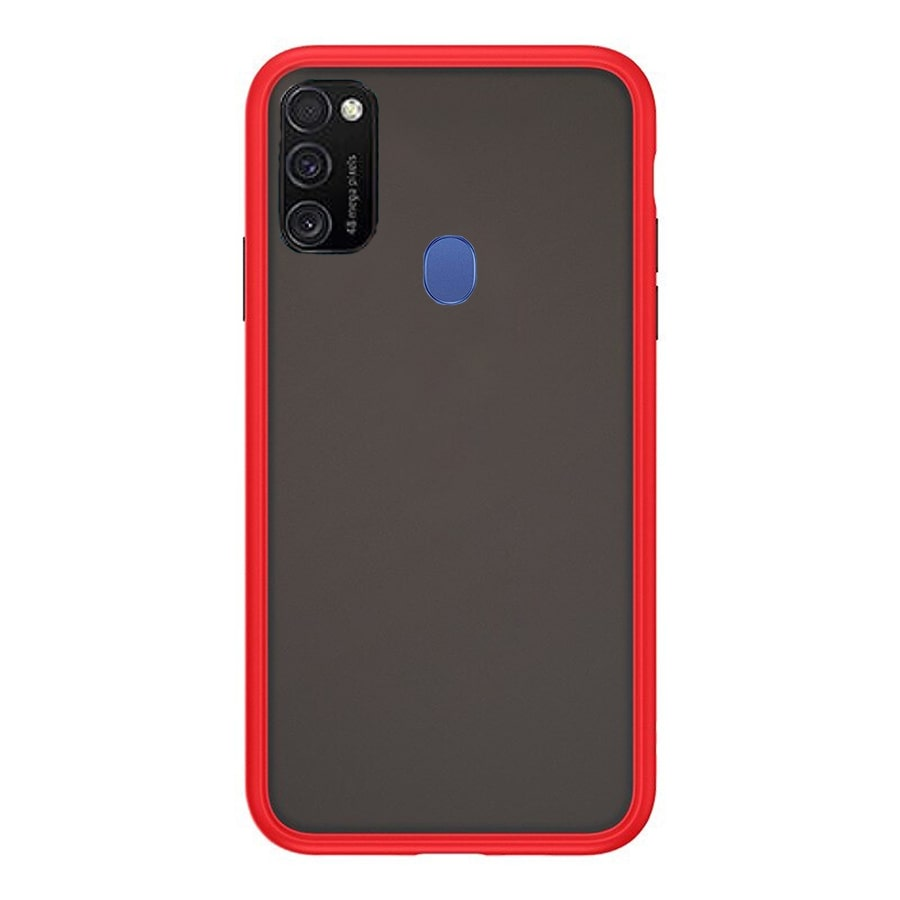 Samsung M30S Matte Cover - Red