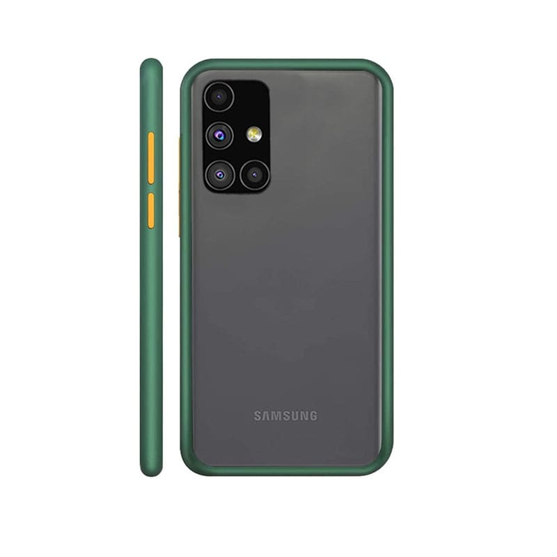 Green Matte Cover - Samsung A71
