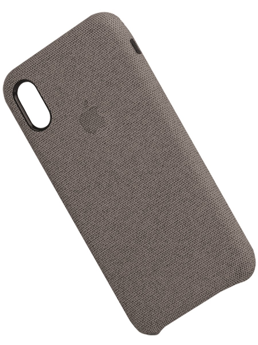 Dark Grey Fabric Case - iPhone XR
