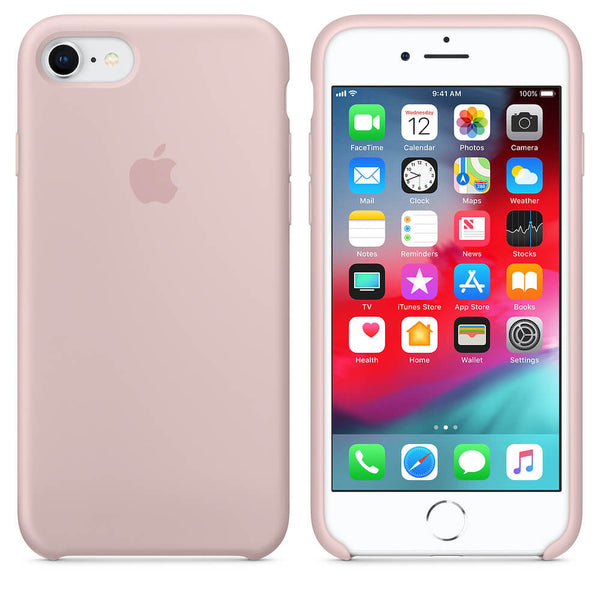 Baby Pink Liquid Silicon Case - iPhone 8 - Mobilegadgets360