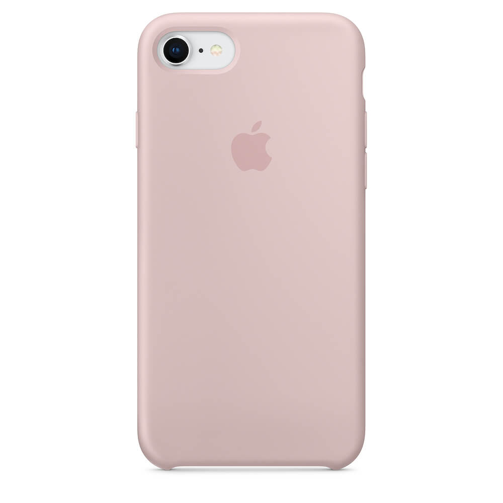 Baby Pink Liquid Silicon Case - iPhone 7 - Mobilegadgets360