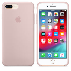 Golden Liquid Silicon Case - iPhone 7 Plus & 8 Plus - Mobilegadgets360