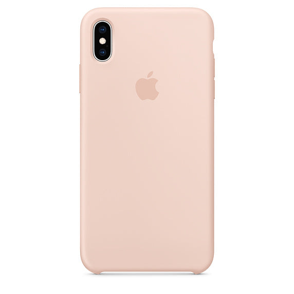 Golden Liquid Silicone Case - iPhone XS
