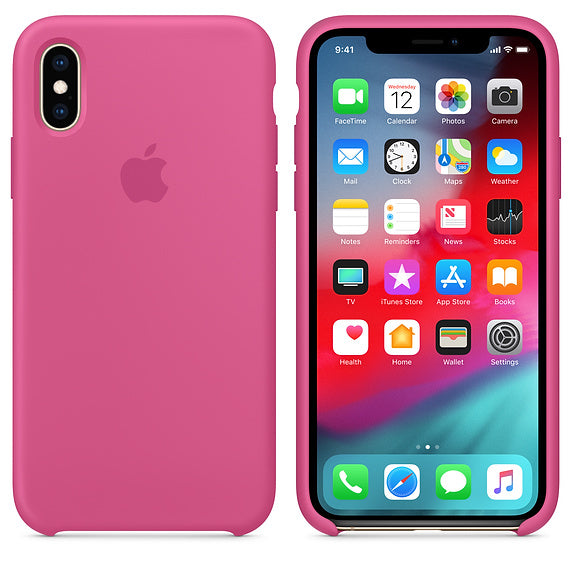 Pink Silicon Liquid Case - iPhone XR - Mobilegadgets360
