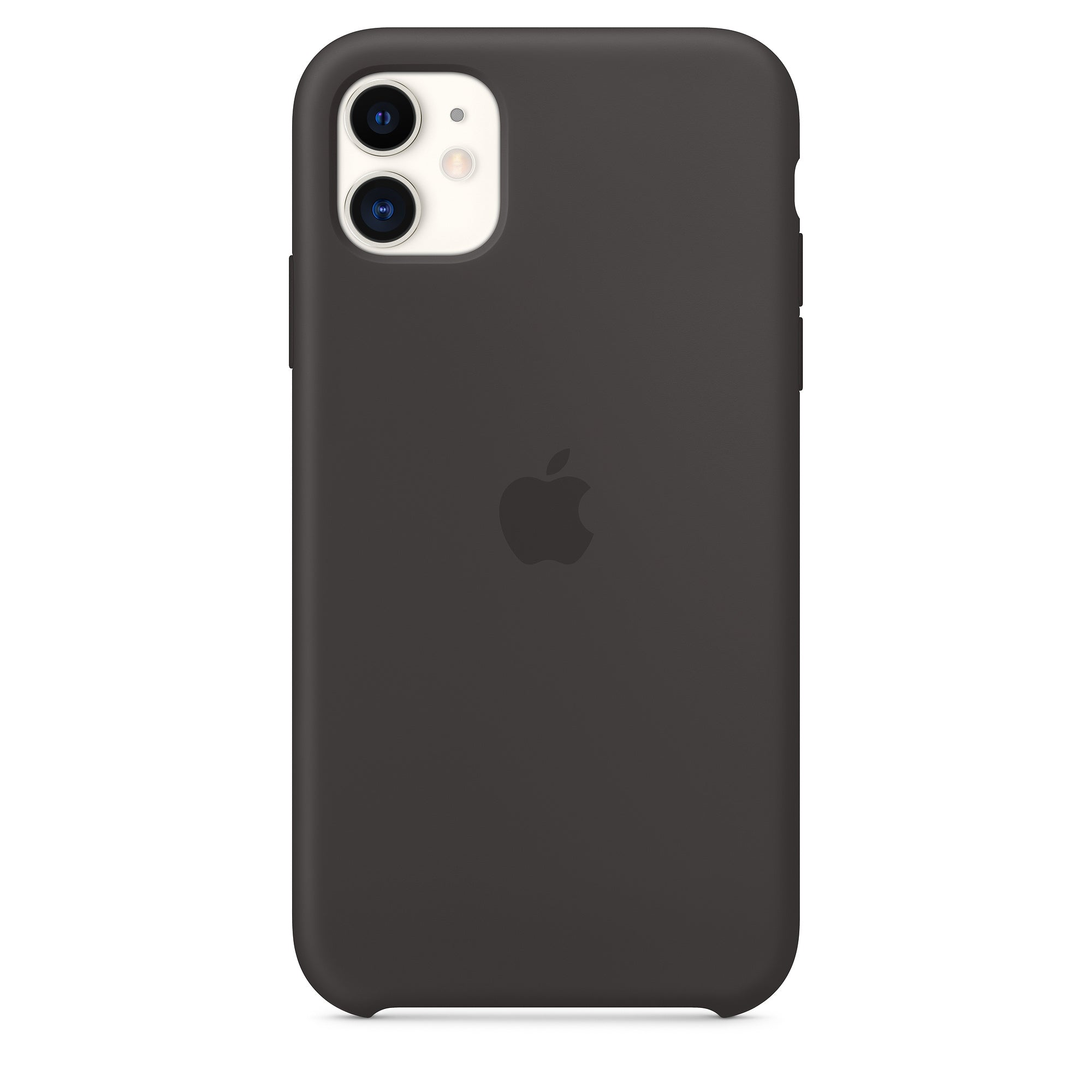 Silicon Case For iPhone 11 - Black - Mobilegadgets360