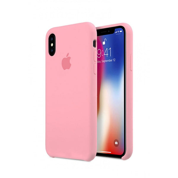 Baby Pink Liquid Silicon Case - iPhone XR - Mobilegadgets360