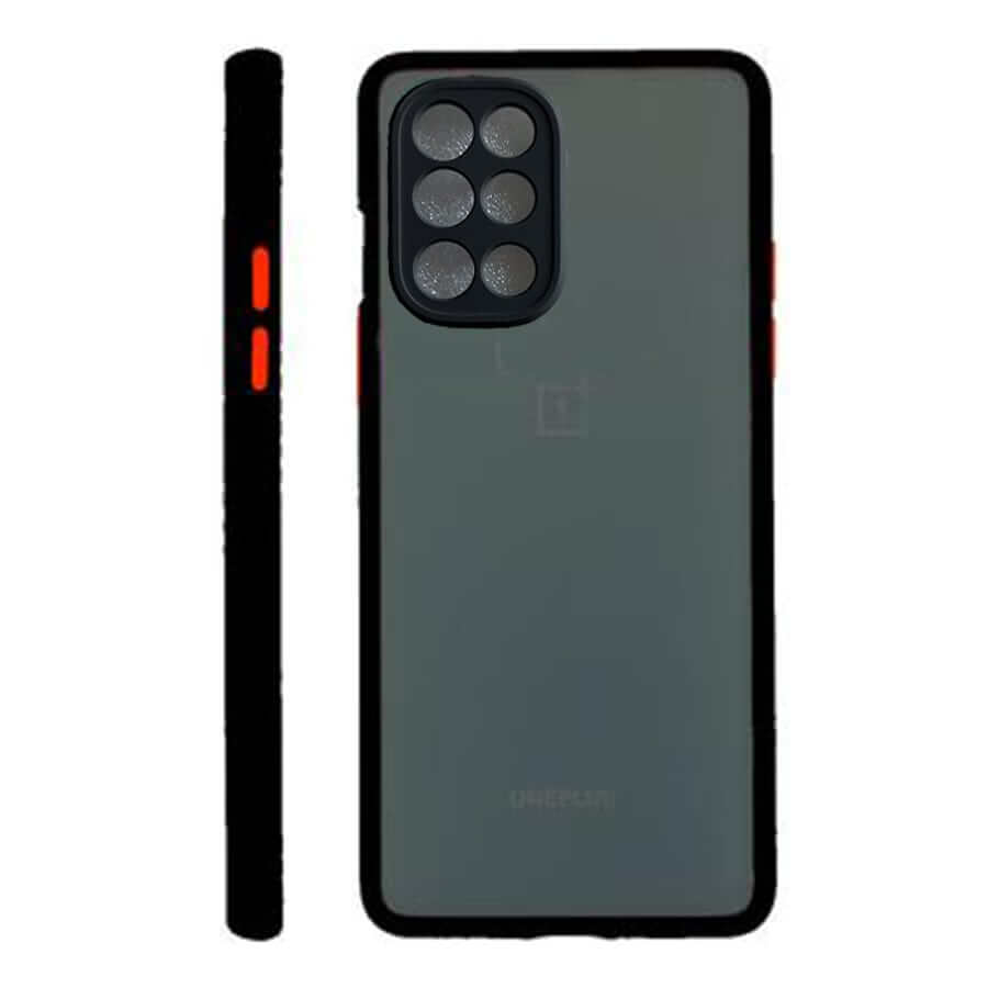 OnePlus 8T Matte Case with Camera Protection - Black