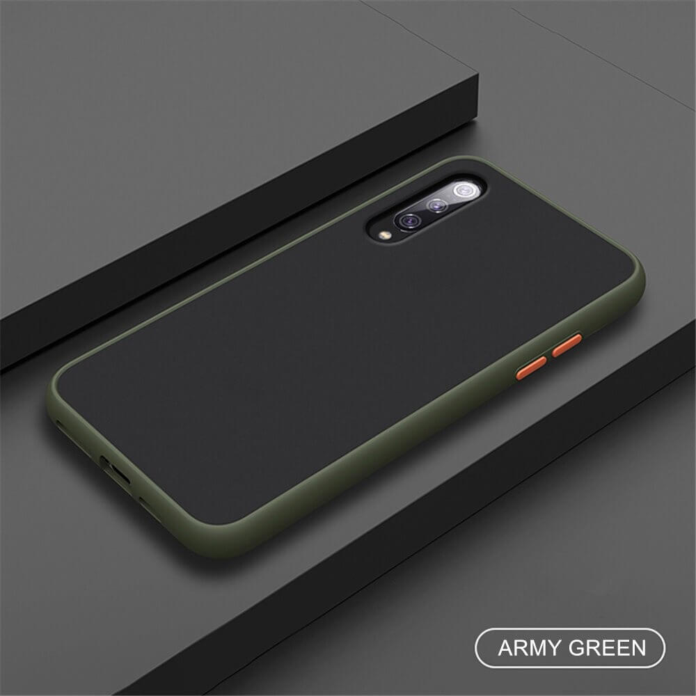 Mi A3 Matte Cover - Army Green